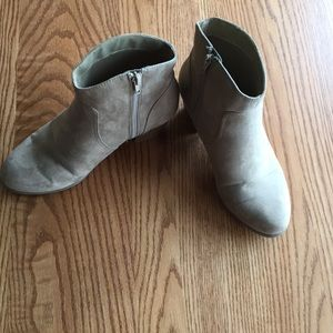 ANA suede booties